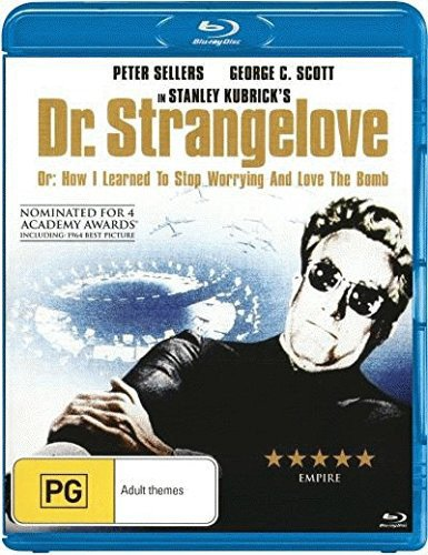 Dr. Strangelove, Or: How I Learned to Stop Worrying and Love the Bomb [Blu-ray] Naylor Stop