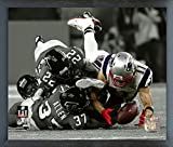 "Julian Edelman New England Patriots Super Bowl LI Spotlight Photo (Size: 17"" x 21"") Framed"