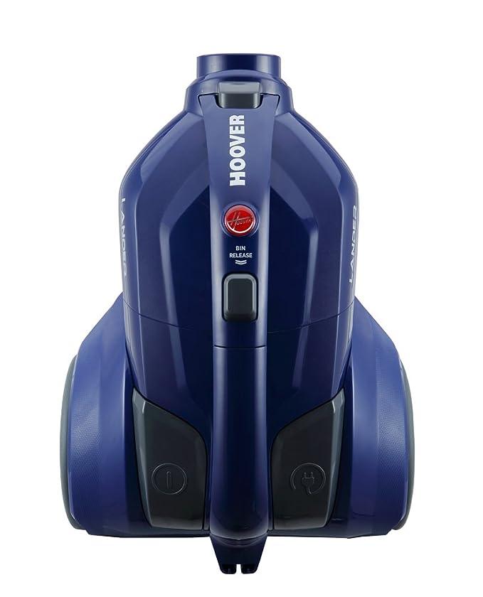 Hoover Lander LA20 - Aspirador trineo sin bolsa con filtro EPA, con accesorio especial para parquet, tecnología ciclónica, 700 W, color azul: Hoover: ...