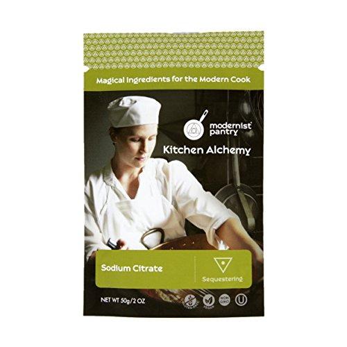 Pure Sodium Citrate ⊘ Non-GMO ❤ Gluten-Free ☮ Vegan ✡ OU Kosher Certified (Molecular Gastronomy) - 50g/2oz