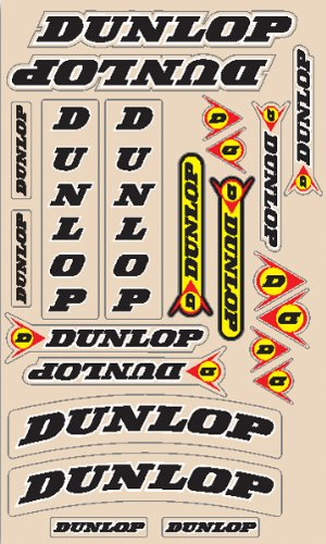 N-style Decal (N-Style Decal Sheets - Dunlop Universal Kit V3 N30-1007)