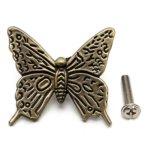 Butterfly Cabinet Handles Kitchen Furniture drawer pull k...