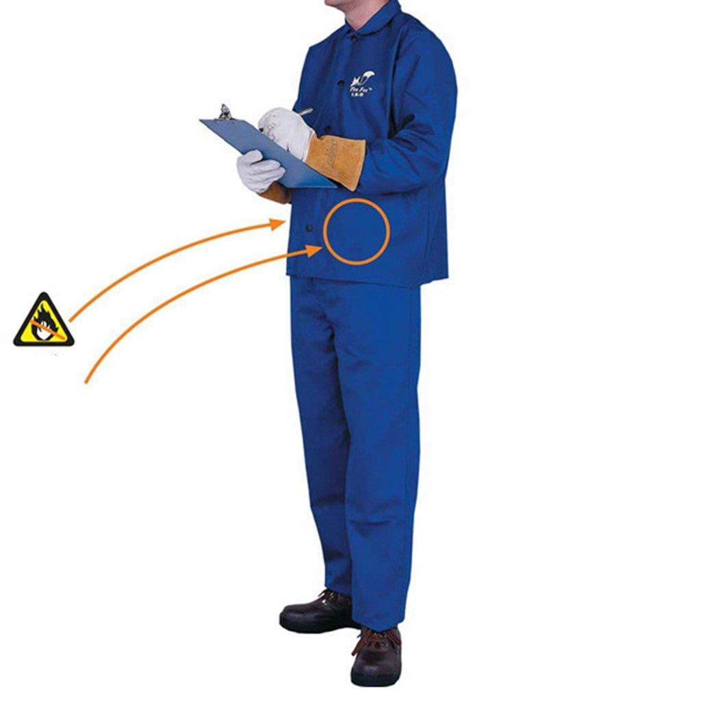 kesoto Combinaison de Soudage Veste de Soudeur Costume Protecteur de V/êtement de Veste de S/écurit/é de Soudure XXL