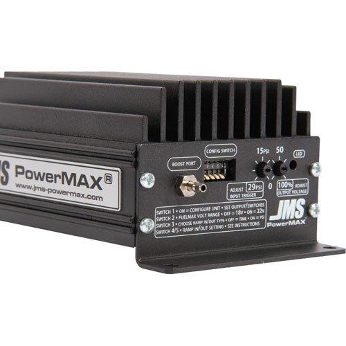 Fuel Pump Voltage Booster - JMS PowerMAX FuelMAX V2 Plug and Play Fuel Pump Voltage Booster for Mustang GT and Boss 302 - Activation via Internal Boost Pressure Sensor