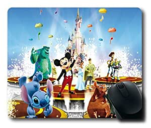 Disney Animated Movie Characters Customized Rectangle Non-Slip Rubber Base Large Mousepad Gaming Mouse Pad 327*280*3MM by ruishername