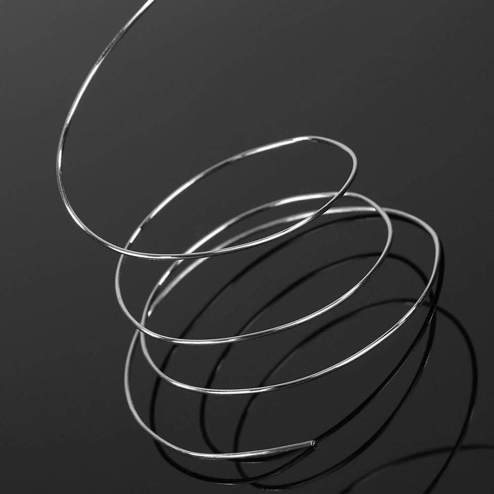 L/ötdraht L/öten Lot L/öt-Zinn mit Kolophonium Kern Flussmittel Draht L/ötmittel Weichlot L/ötung 500g Durchmesser 1.0mm auf Rolle//Spule Starnearby L/ötzinn