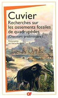 Recherches sur les ossements fossiles. Mastodontes - Georges Cuvier