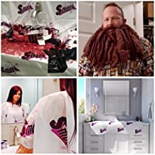 Hair Color Protector for Hair Coloring, Beard Catcher & Hair Cutting Cape by Sink Smock 3 Pack