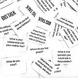 BIG TALK Question Card Game: Skip Small Talk, Make