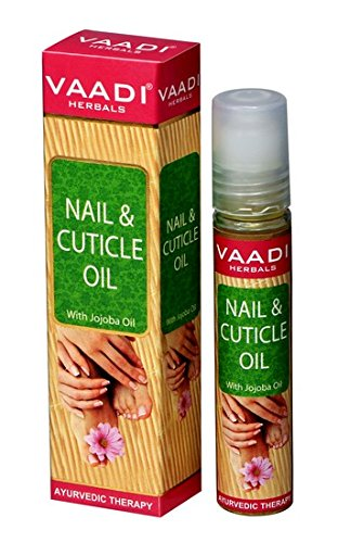 Vaadi Herbals Nail and Cuticle Oil with Jojoba Oil, 10ml