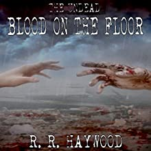 Blood on the Floor Audiobook by R. R. Haywood Narrated by Rachel Hine