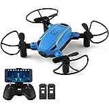 HELIFAR X1 FPV Drone Mini RC Quadcopter Camera 2.4GHz 6-Axis Gyro Remote Control Nano Drone Kids Adults Beginners Headless Mode/3D Flip/One Key Take-Off Return/Altitude Hold/FPV Mode
