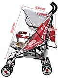 PerriRock Universal Raincoat Cover Baby Stroller Weather Shield Cover