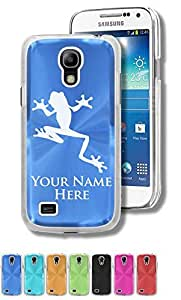 Personalized Case/Cover for Samsung Galaxy S4 Mini - TREE FROG - Engraved for FREE