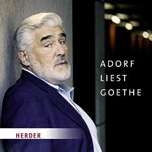Adorf liest Goethe Hörbuch