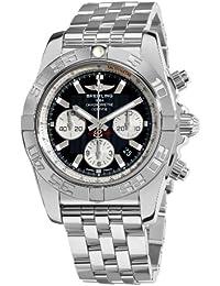 Men's AB011012/B967 Chronomat B01 Black Chronograph Dial Watch