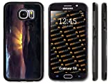 Rikki Knight Frederick Edwin Church Art After the Annealing Design Samsung Galaxy S6 Case Cover (Black Rubber with front Bumper Protection) for Samsung Galaxy S6