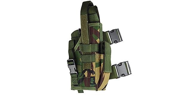 Universal Tactical Gun Pistol Holster DPM NEW Drop Leg