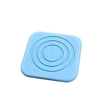 Artbro Concise - Posavasos cuadrado de diatomita con material natural, gran absorción antideslizante, secado rápido, antibacteriano, para oficina en casa ...