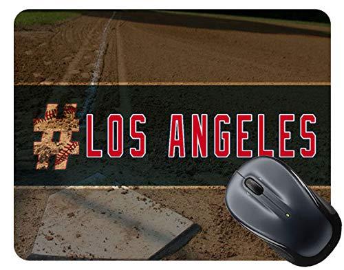 - BRGiftShop Hashtag Los Angeles #LosAngeles Anaheim Baseball Team Square Mouse Pad