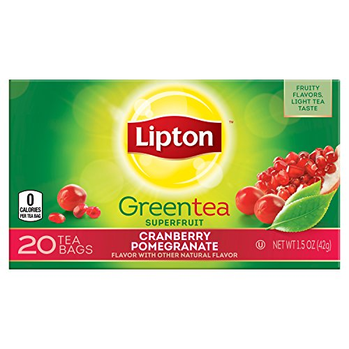 Lipton Green Bags Cranberry Pomegranate