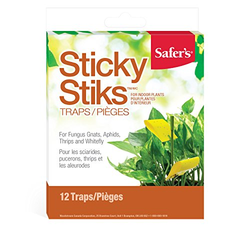 Safer's Houseplant Sticky Stakes Insect Trap