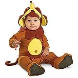 Rubie's EZ-On Romper Costume, Monkey See Monkey Do, 6-12 Months