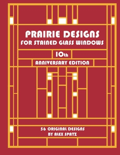 Prairie Designs for Stained Glass Windows (Cliffside Studio)