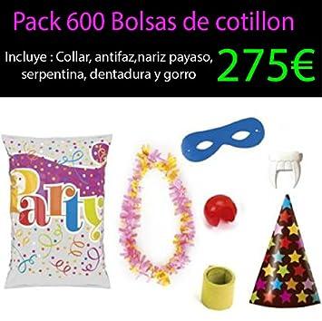 Pack 600 bolsas de cotillon: Amazon.es: Juguetes y juegos