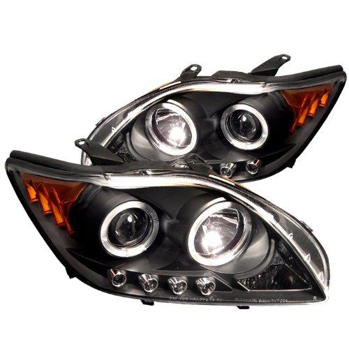 Spyder Auto Scion TC Black Halogen LED Projector Headlight ()