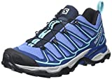 Salomon Women's X Ultra 2 W hiking Shoe, Petunia Blue/Midnight Blue/Wild Violet, 6.5 D US