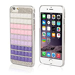 Bessky(TM) iPhone6 Case,2015 Hot Sell Candy Crystal Bling Rhinestone Hard Case Cover For iPhone6 Plus 5.5Inch (Purple)