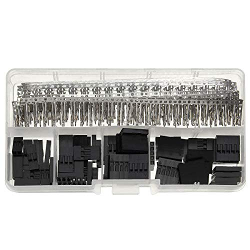 - OKIl 345 Pcs Wire Jumper Pin Header Connectors Housing Female Kit And M/F Crimp Pins