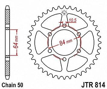 JT Sprockets JTR814.50 50T Steel Rear Sprocket
