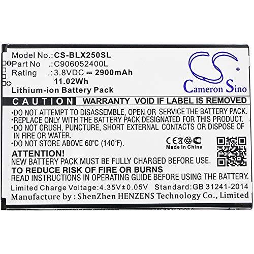 Bateria : BLU C906052400L Fits BLU Energy X2E050 (2900mAh 3.