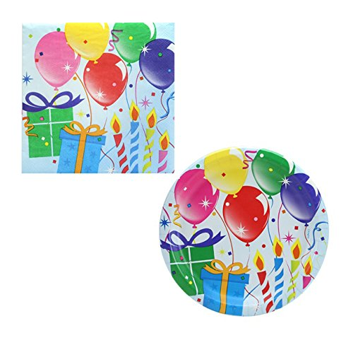 (Hanna K. Signature Collection - Birthday Balloons Bundle - Pack of 36 7