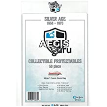 Aegis Guru 50 Silver Age 2 mil Resealable Mylar Comic Bag