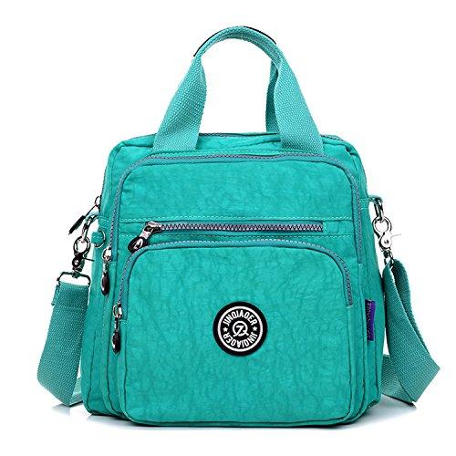 Green Cross for Backpack Handbag Satchel MeCooler Body Messenger Shoulder Bag Fashion Sport Daypack Lightweight Casual Bag Waterproof Bag Women Travel q6H6UI
