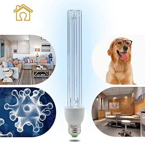 UV D/éSinfection Lampe Germicide St/érilisation Lumi/ère Taux Anti-bact/érien 99/% Ampoule Tube De Quartz pour La Zone danimal Familier De Toilette De M/énage 15W 36W 25W