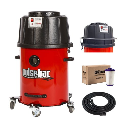 Pulse-Bac 1050 Dust Extractor Vacuum w/Auto Filter Cleaning (Wet Tank Gal Vac Dry)