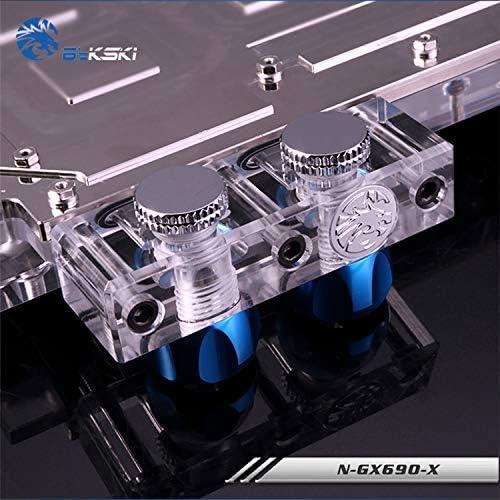 Bykski N-GX690-X GPU Water Cooling Block for Reference GTX690