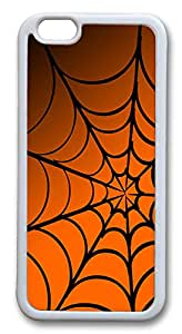 """Top iPhone 6 Cases, ICORER iPhone 6 Case Halloween Spiderweb TPU Rubber Silicone Soft Case Back Cover for Apple iPhone 6 4.7"""" White"""
