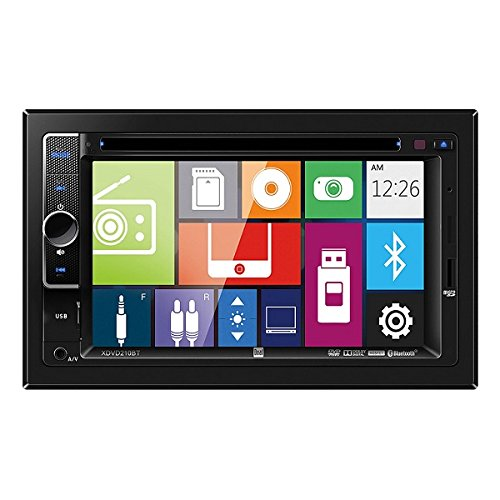 Dual XDVD210BT 6.2'' DVD Multimedia Receiver with Bluetooth by Dual Electronics