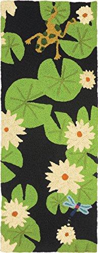 Jellybean Lily Pad & Frog Indoor/Outdoor Rug 21