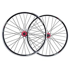 Product description:       Specifications: 26 inch V / disc brakes two wheel set              Front opening 100MM, rear opening 135MM              Hub: Taiwan XERO Zun Wheel - Black Red Blue Gold              Spokes: white / black     ...