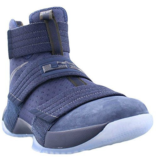 b74db3229121 Nike Zoom Lebron Soldier 10 SFG 844378-444 Midnight Navy Game Royal Midnight  Navy (9.5)