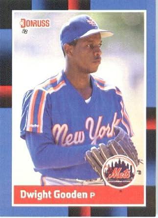 Amazoncom 1988 Donruss Baseball Card 69 Dwight Gooden