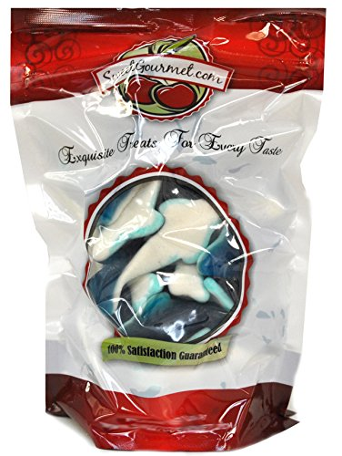 Gummi Gummy Killer Sharks Candy 1 Pound Bag for $<!--$3.32-->