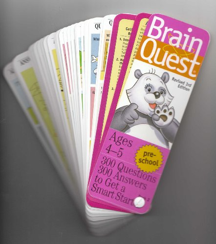 Brain Quest, Pre School: 300 Questions, 300 Answer to Get a Smart Start, 3rd Revised Edition -