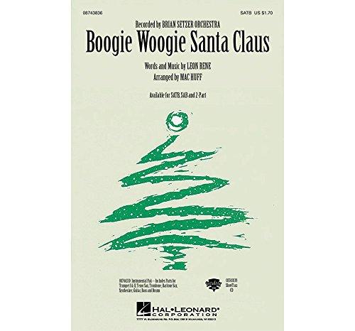 Hal Leonard Boogie Woogie Santa Claus Combo Parts by Brian Setzer Orchestra Arranged by Mac - Brian Book Orchestra Setzer